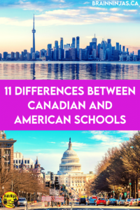 Teachers in Canada and the United States have many things in common, but while Canadians often see American schools on television and in movies, the reverse is not often true. There are many differences so let's take a look at some of them.