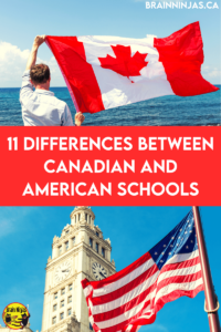 Teachers in Canada and the United States have many things in common, but while Canadians often see American schools on television and in movies, the reverse is not often true. There are many similarities and differences, so come take a look!