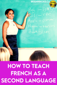 Have you been asked to teach French as a Second Language to upper elementary students but you don't know where to start? Do you speak some French, but have never taught it? Let us help you out. Our lessons are written by a native Francophone speaker who teaches French as a Second Language. Get some ideas to get you started or use our resources to get you through the year until your're a French rockstar!