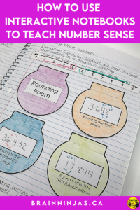 Interactive math notebooks are one way we teach number sense in our upper elementary classroom. Math class just hasn't been the same for us or our students since we started using interactive notebooks. Yes, they are work, but the benefits are HUGE! Come see what we do to make it work and get some ideas for yourself.