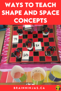 Are you looking for ways to teach shape and space concepts to your students? This is one of our favourite units. We teach 2D shapes and 3d objects with interactive math notebooks, task cards, Boom Cards and a huge project where we build an arcade. It's so much fun! Come see how we do this in our upper elementary classroom.