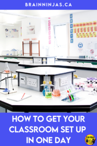 Did you get hired at the last minute and now you have one day to set up your classroom? Yes, it can be done. Get down to the basics and leave everything else for later. Come read about how we've set up our classroom in one day.