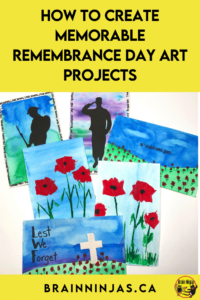 Are you looking for some Remembrance Day art projects that go beyond painting poppies? We've created these projects with our Grade 4 and Grade 5 students. We wanted a variety. You can grab all of these lessons to create the best Remembrance Day display ever. Come take a look.
