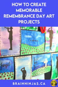 Are you looking for some Remembrance Day art projects that go beyond painting poppies? We've created these projects with our Grade 4 and Grade 5 students. We wanted a variety. You can grab all of these lessons to create the best Remembrance Day display ever.